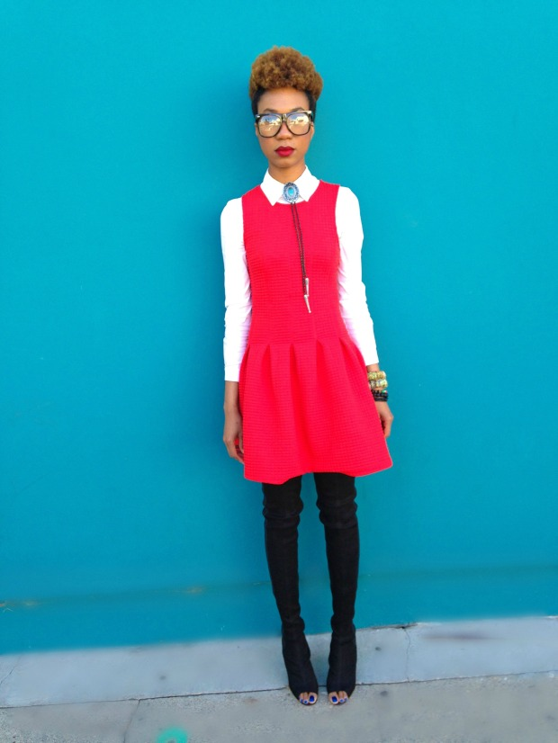 RED DRESS 01