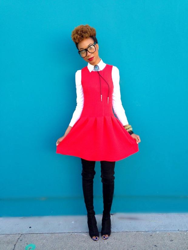 RED DRESS 06