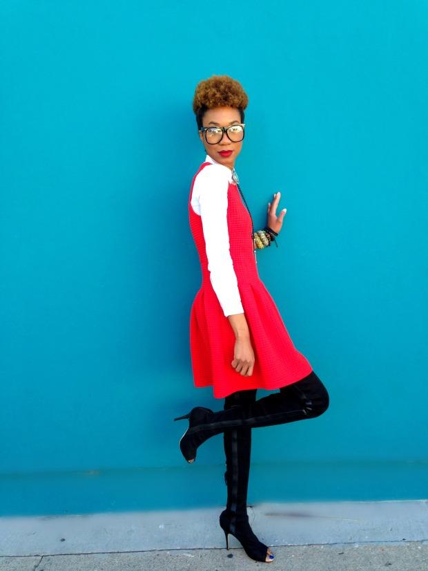 RED DRESS 07