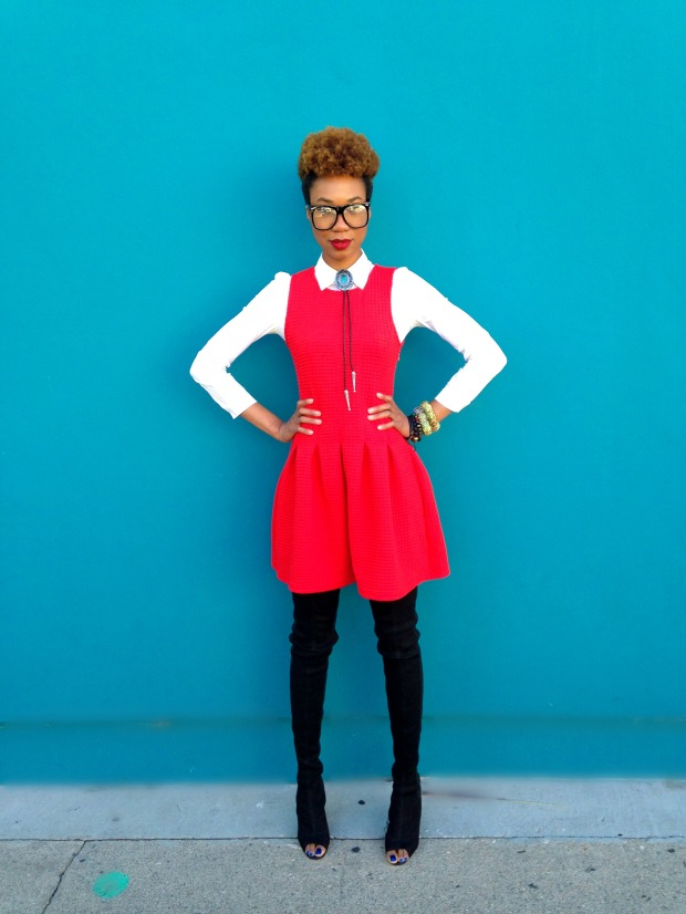 RED DRESS 09