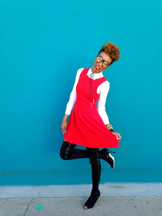 RED DRESS 12