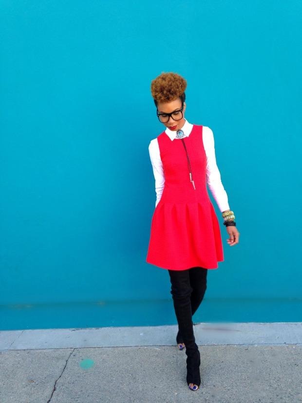 RED DRESS 14